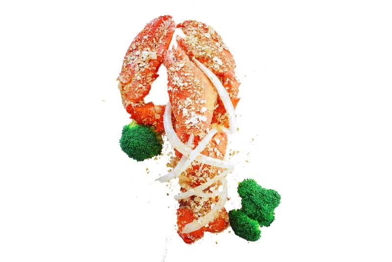 BabeBox独家燕麦芝麻焗龙虾